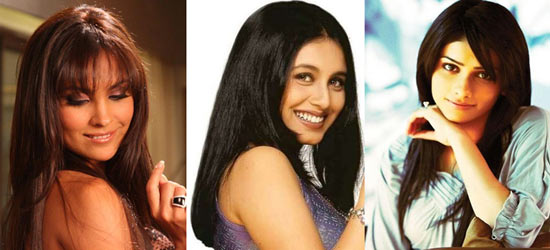 Rani Mukerji, Lara Dutta, Prachi Desai