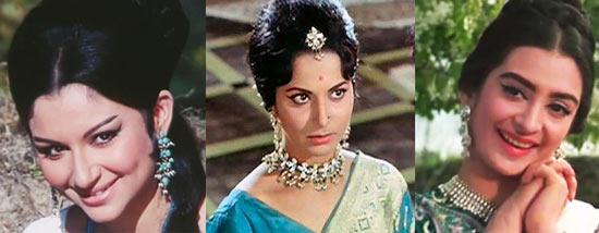 Sharmila Tagore, Waheeda Rehman, Saira Bano