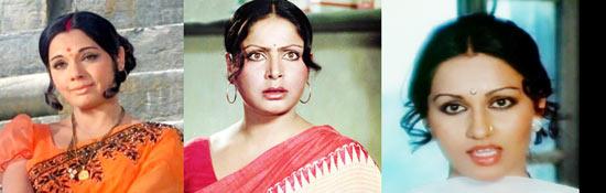 Mumtaz, Raakhee, Reena Roy