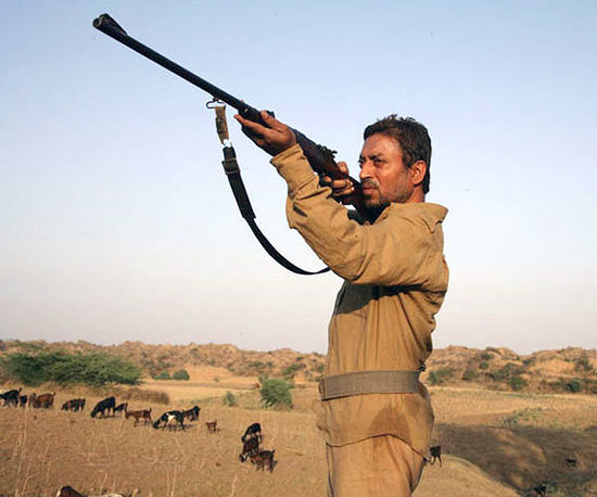 Irrfan Khan in Paan Singh Tomar