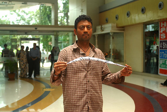 Irrfan Khan in Mumbai Meri Jaan