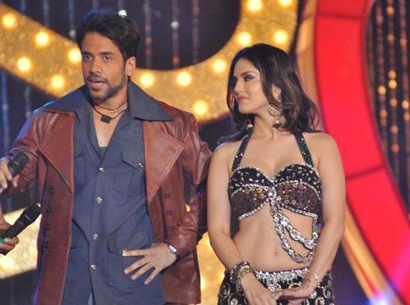 Sunny Leone and Tusshar Kapoor