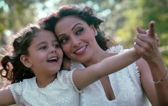 Bipasha Basu and Doyel Dhawan, who plays her daughter, in Suparn Verma's Aatma