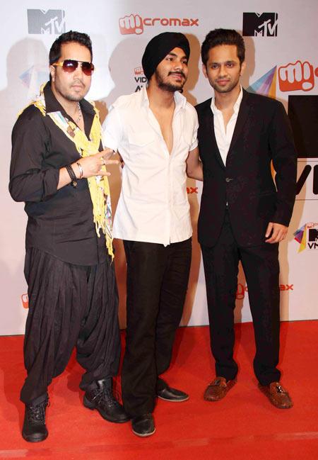 Mika and Rahul Vaidya