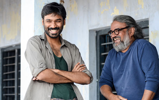 Dhanush and Bharat Bala