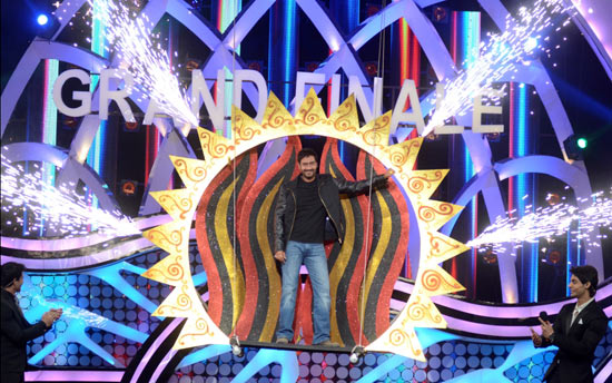 Ajay Devgn at the finale