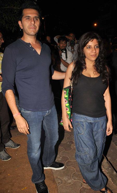 Ritesh Sidhwani and Zoya Akhtar