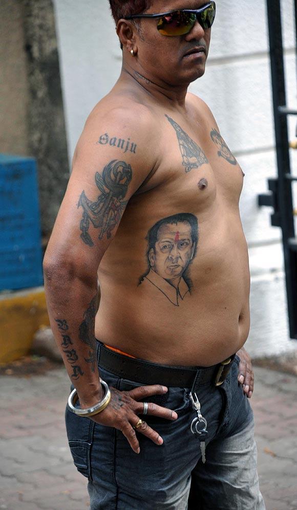 Sanjay Dutt's fan