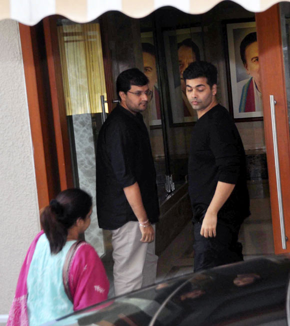 Karan Malhotra and Karan Johar