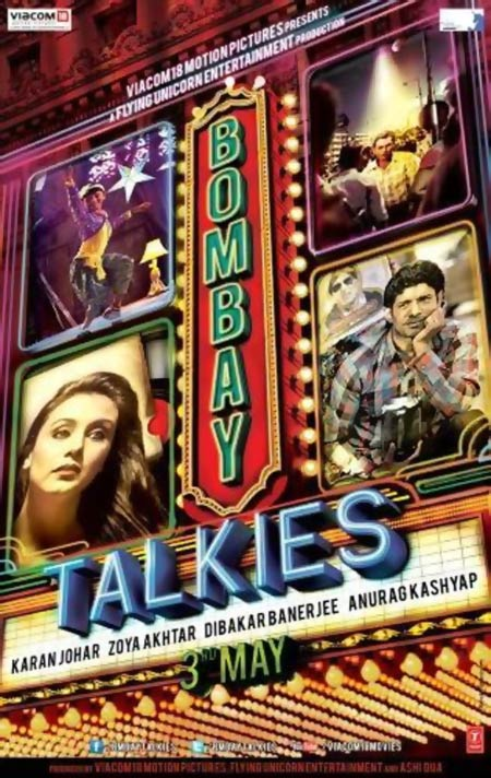 Movie poster of Bombay Talkies