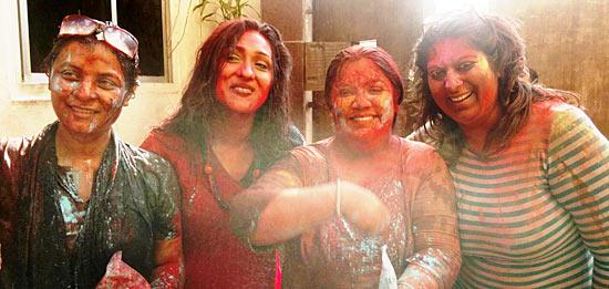 Srabani Mukherjee, Rituparna Sengupta, Reema Lahiri and Ansuha Srinivasan Iyer