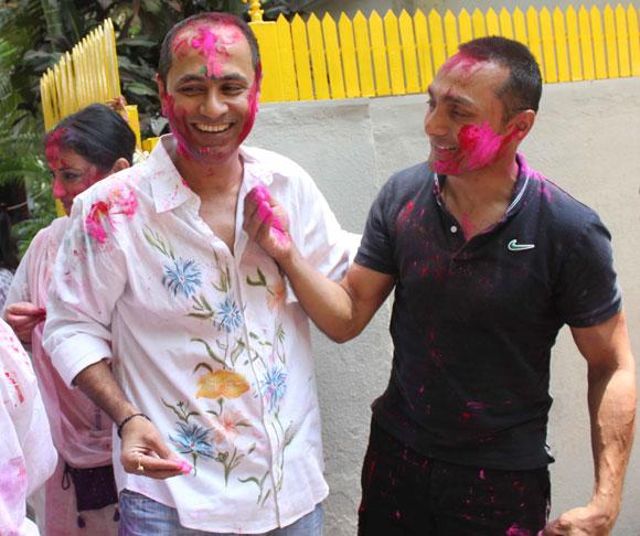 Vipul Shah and Rahul Bose