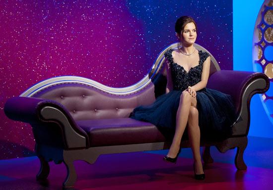 Emma Watson's wax statue