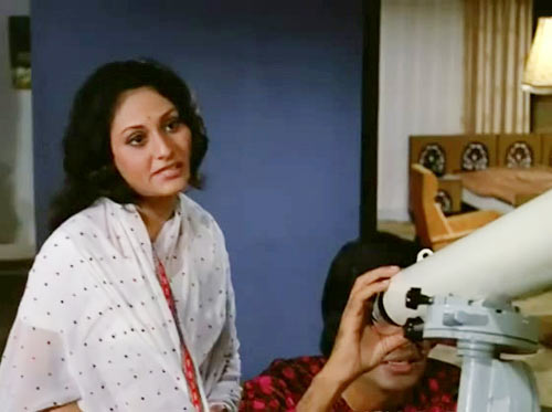 Jaya and Amitabh Bachchan in Mili