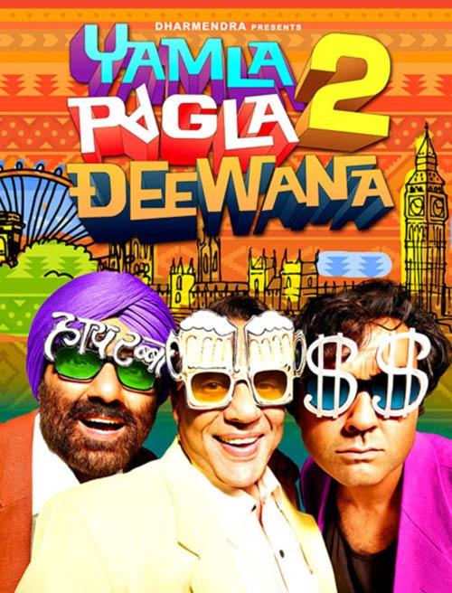Poster of Yamla Pagla Deewana 2