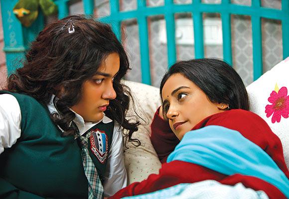 Riya Vij and Divya Dutta in Gippi
