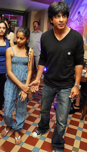 Shah Rukh Khan with daughter Suhana