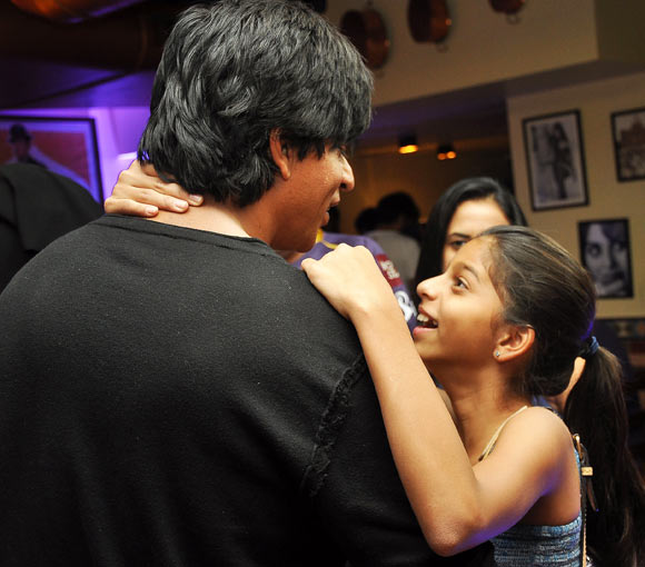 Shah Rukh and Suhana Khan