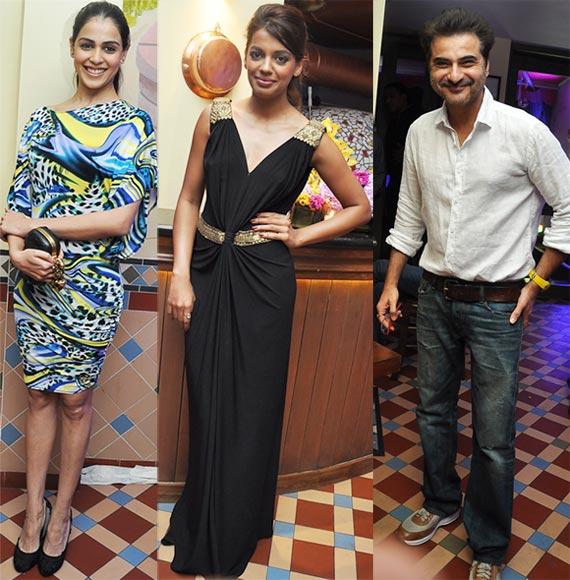 Genelia D'Souza, Mughda Godse and Sanjay Kapoor