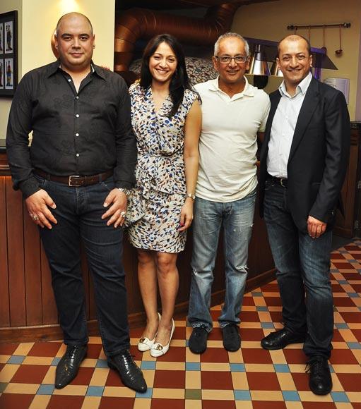 Diego Palladino, Arja Shridhar, Jay Mehta, Sam Malde