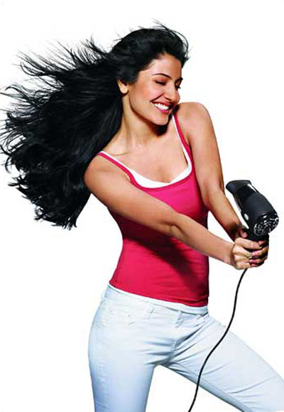 Anushka Sharma in a Parachute ad