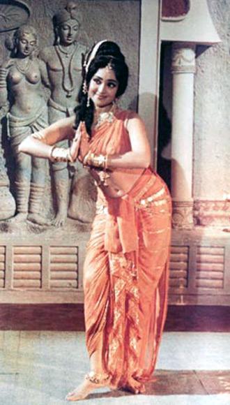 Vyjayanthimala in Amrapali