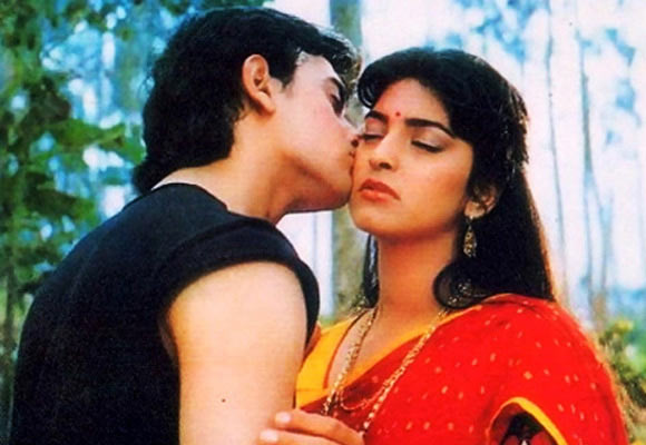 Aamir Khan and Juhi Chawla in Qaymat Se Qayamat Tak
