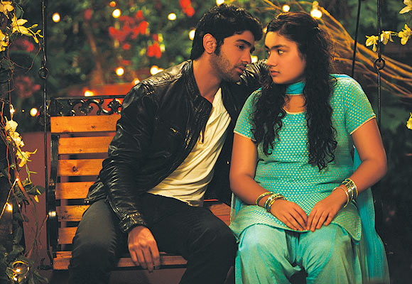 Taha Shah and Riya Vij in Gippi
