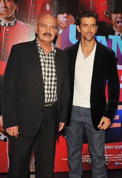 Rakesh and Hrithik Roshan