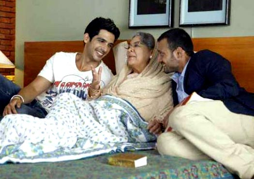Zayed Khan, Farida Jalal and Satyadeep Misra in Love Breakups Zindagi