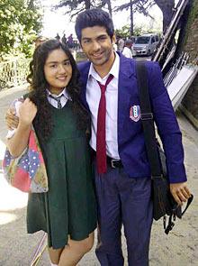 Tahaa Shah and Riya Vij