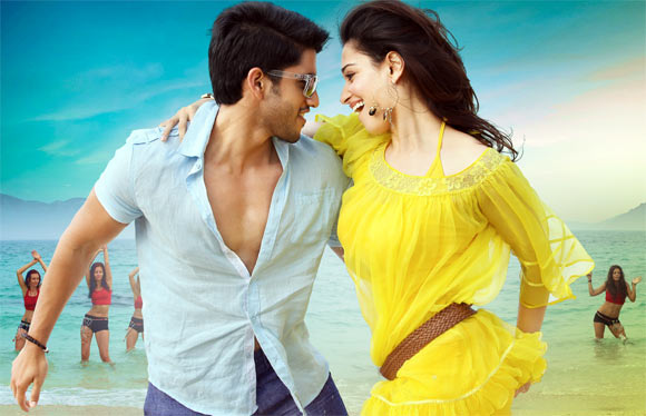 Naga Chaitanya and Tamannaah in Tadakha