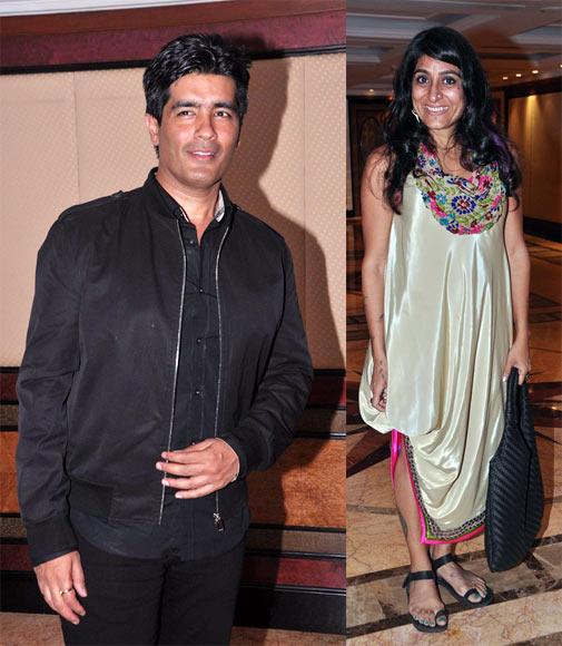 Niharika Khan and Manish Malhotra