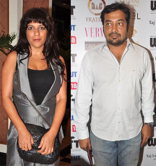 Zoya Akhtar and Anurag Kashyap