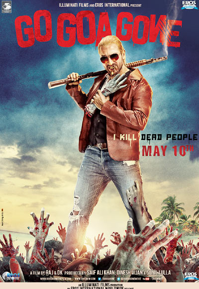 Movie poster of Go Goa Gone