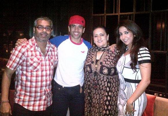 Shashank Shah, Tusshar Kapoor, Dolly Ahuwalia and Krishika Lulla