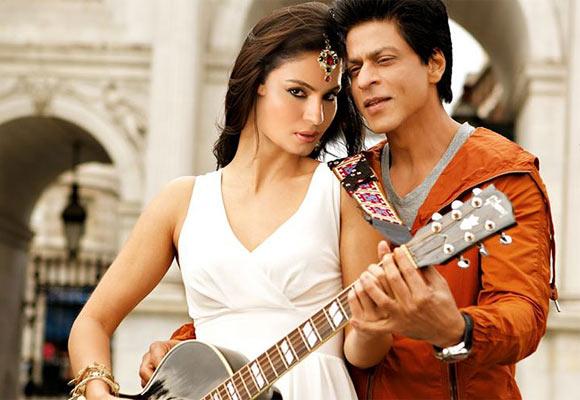 Shah Rukh and Veena