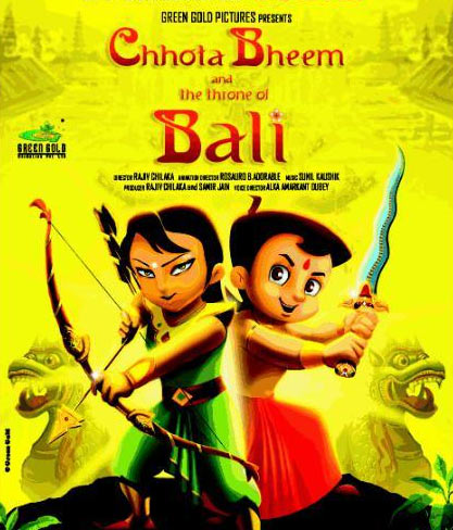 The Chhota Bheem And The Throne of Bali poster