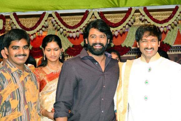 Prabhas, Gopichand and Reshma