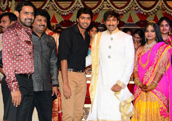Allari Naresh With Gopichand And Reshma