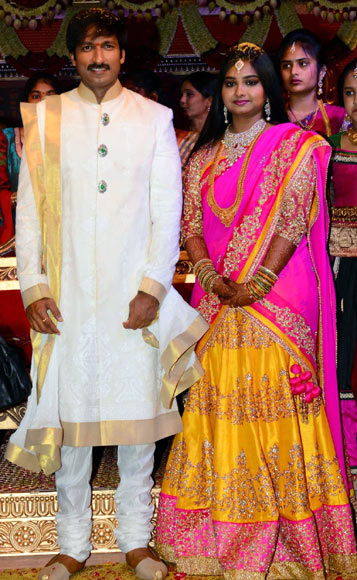 Tottempudi Gopichand and Reshma