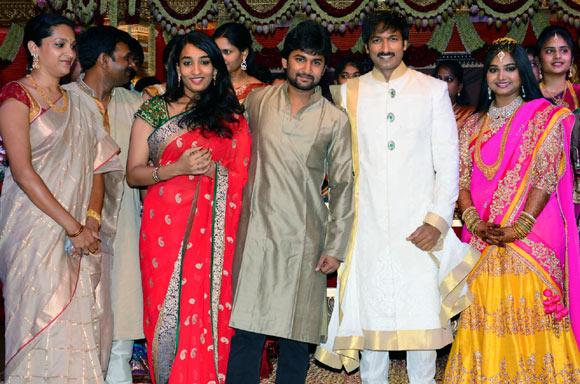 Anjana Yelavarthy, Nani, Gopichand and Reshma