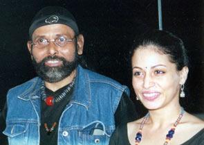 Jagdish Mali with his daughter Antara