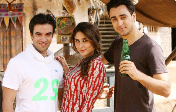 Punit Malhotra, Kareena Kapoor and Imran Khan