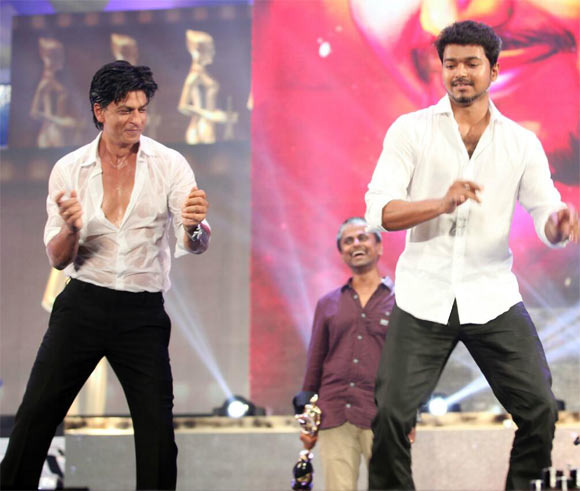 Shah Rukh Khan and Vijay