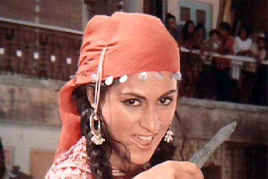 Jaya (Bhaduri) Bachchan in Zanjeer