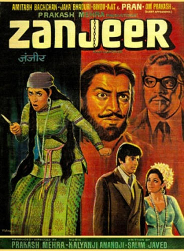 Movie poster of Zanjeer