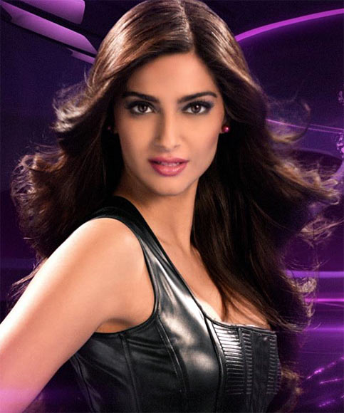 Sonam Kapoor in a L'Oreal ad