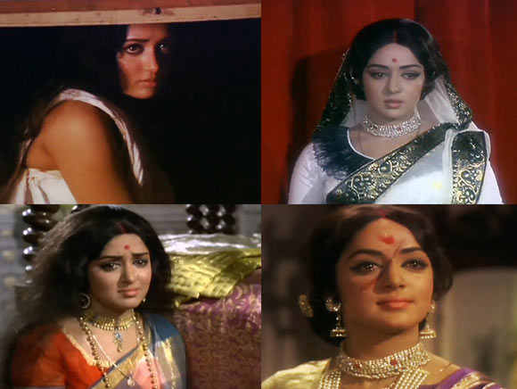 Hema Malini in Lal Patthar