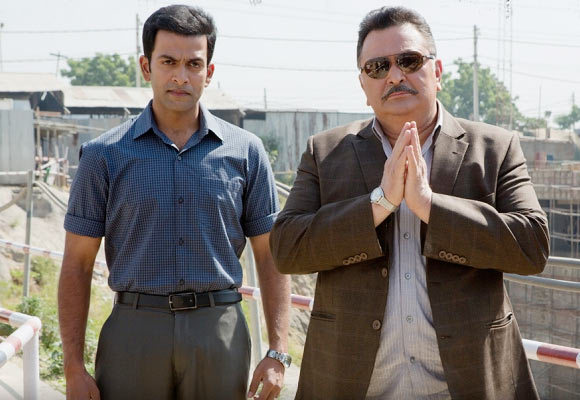 Prithviraj and Rishi Kapoor in Aurangzeb